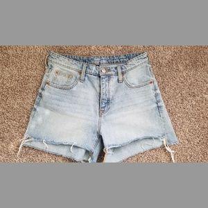 GAP Vintage Cut High Rise Denim Shorts